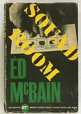 Ed McBain: Squad Room (87th Precinct Mystery) SIGNED FIRST EDITION
