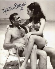 Martine Beswick Photo Signed In Person - Thunderball - C314