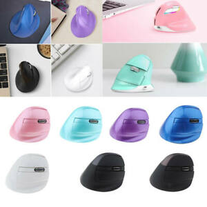 Wireless Ergonomic Vertical Mouse with Nano Transceiver and Bluetooth 4.0,