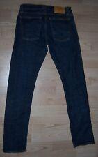 Gran Nudie para Hombre Super Slim Kim Seco Comodidad Blue Jeans Tamaño W29 L32