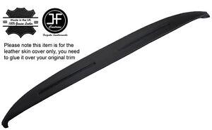 BLACK STITCH REAR TOP DASH DASHBOARD COVER FITS ROLLS ROYCE SILVER SHADOW II