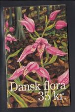 DENMARK Red Helleborine (Endangered Plant Species) MNH booklet