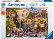 Ravensburger African Animal World 3000 Piece Jigsaw Puzzle