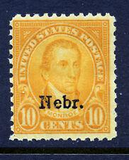 Bigjake: #679, 10 cent Nebraska overprint, MNH