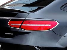 Mercedes GLE Coupe Chrome Rear lamp surrounds frames trims set C292