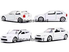 Jada 1 :3 2 Jdm Tuners 1997 Honda Civic Ek Type-R Pantalla Azul/Negro/Rojo /