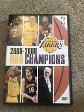 2009 NBA Champions Los Angeles Lakers Basketball DVD Kobe Bryant
