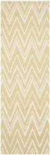 Safavieh Cambridge GOLD / IVORY Wool Runner 2' 6 x 8' - CAM711L-28