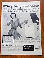 1953 Maytag Washer Automatic Washer Ad 1953 Royal Portable Typewriter Ad