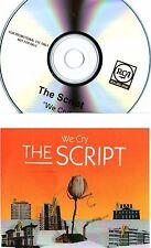 "THE SCRIPT - ""We Cry"" (7 Track Promo CD) - ASHANTI BOYZ - BIMBO JONES"