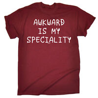 Funny T Shirt - Awkward Speciality - Birthday tee Gift Novelty tshirt T-SHIRT