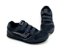 Sneaker Killtec Klettverschluss Kunstleder Textil blau Gr.44