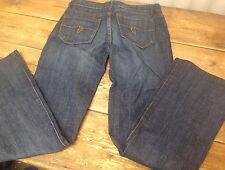 "Guess Jeans Belmont Flare Cotton Spandex Medium Blue Size 27"" Pants Womens Girls"