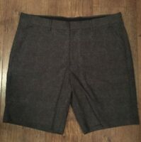 BLACK CHINO SHORTS MENS 34W ASOS SUMMER GOLF FOOTBALL GYM CYCLE TOWIE BEACH
