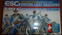 ESCI ERTL BRITISH LIGHT DRAGOONS NAPOLEONIC WAR 1/72 MODEL FIGURES ARMY SOLDIERS