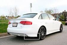 SE Rear Bumper flaps for Audi A4 B8 spoiler spats elerons side splitters 8K