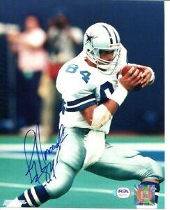 Jay Novacek Signed Photo 8x10 Autographed Cowboys PSA/DNA AG77611