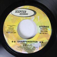 Hear! Psych Promo NM! 45 Jelly - Sharpshooter / Am Gleichen Auf Zepter (Promo)