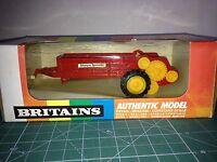 BRITAINS 1/32 MANURE SPREADER (9540 ROJO) VER FOTO