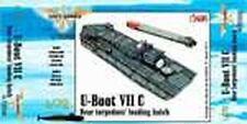 CMK Navy N72008 1/72 Resin WWII German U-boot VII Winding Platform (2 chute)