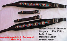 6 cm Akkordeongurte, Riemen,Bretelles p. Accordeon, acordeon, Accordion Straps