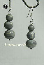 Opal Australien Ohrhängerpaar 925 Silber