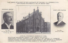 York, Pa - First Methodist Episcopal Church, Annual Conference Sessions in York