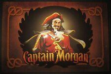 Captain Morgan, Ron, pirata, escudo de chapa (horizontal)