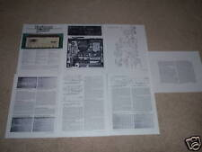 Marantz 2500 Receiver Review,7 pgs,color,King!FULL TEST