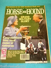 HORSE and HOUND - GRAND MILITARY GLORY - MARCH 18 1993
