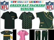 Green Bay Packers Scrub Top-Greenbay Packers Scrub Pants-Greenbay Packers Scrubs