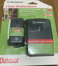 Westinghouse 2 Outlet Wireless Remote Timer Outdoor Sensor