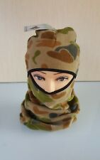 FULL FACE and NECK FLEECE AUSCAM BALACLAVA COL. CAMEO