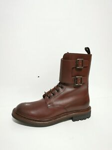 NEW CHURCH´S English shoes Ankle Boots Shoes CARLY 2 DT0059 combat model brown