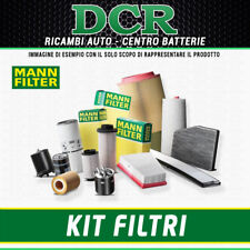 REPLACEMENT FILTER KIT MANN VW NEW BEETLE 1.9 TDI 90CV 66KW FROM 99 AL 04