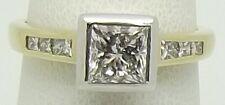 18CT YELLOW & WHITE GOLD INC 1.09CT DIAMOND ENGAGEMENT/DRESS RING - VALUE $16960
