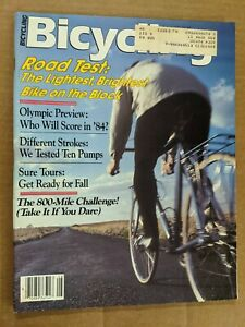 Bicycling Magazine August 1982 M398
