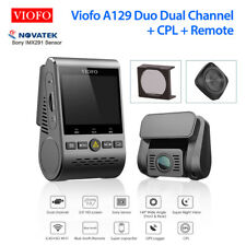 Viofo A129 Duo Dual Channel Wifi GPS Vehicle Recorder w/ Remote + CPL Lens Cover