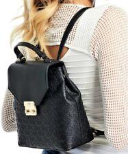 NWT GUESS REDDING BACKPACK BAG Black Logo Handbag GENUINE