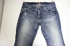 7 For All Mankind Womens Flare Jeans Size 31 low rise