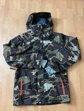 Volcolm Snowboard Jacket Ski Omega Gore Tex Camo Parka Recco Coat Men Sz Small