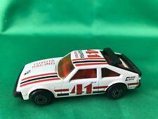 1982 Matchbox 1:60 White #41 Toyota Supra Racing Cragar Car