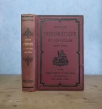 DIPLOMATIE AMBASSADES REPUBLIQUE FRANCAISE ANNUAIRE DIPLOMATIQUE CONSULAIRE 1907