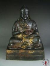 Very Large Old Chinese Tibet Gilt Bronze Made Tibetan Buddha Statue