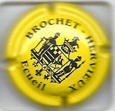 Capsule de champagne Brochet-Hervieux N° 11a cote 30 euros  rare