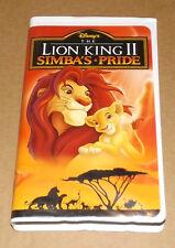 DISNEY'S The Lion King II: Simba's Pride (VHS, 1998) Walt Disney