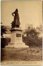 Cartolina Formato Piccolo Francia – Saint Omer (Passo Di Calais) – Statue De Jac