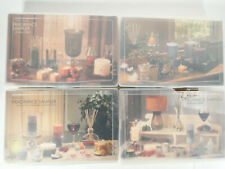New Listing(4) PartyLite Fragrance Samplers + 2/3 Tealight Sampler Box 2009 Holiday Votive