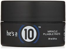 it's a 10 He's A Miracle Pliable Paste 2 oz