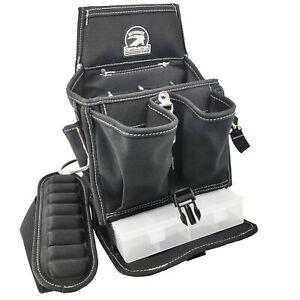 Gatorback B217 Shoulder Tool Pouch w/ Tray Organizer. 19-pocket Carrier